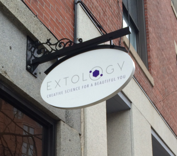 Extology Salon Outdoor Sign