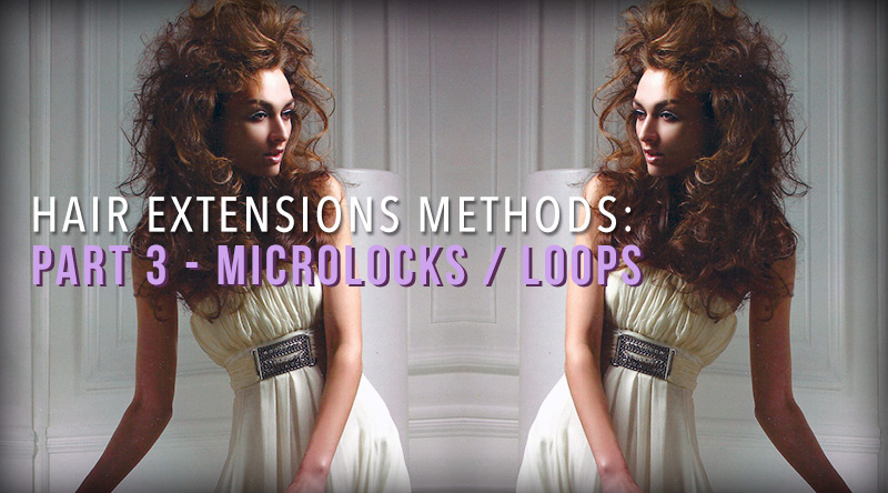 hair extensions methods microlocks