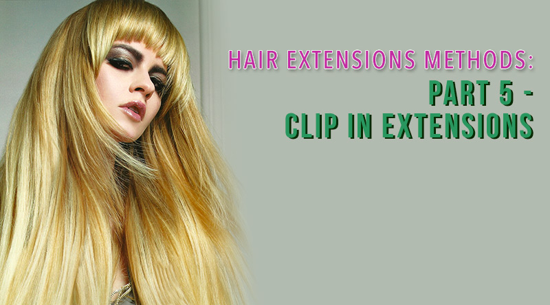 hair extensions methods clip in