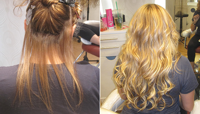 Hair extensions samantha hair extensions boston the extologist hair extensions boston before and after samantha pmusecretfo Image collections