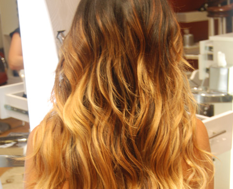 hair color ombre cover