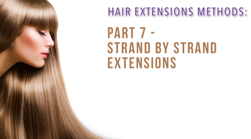 hair extensions methods strand by strand