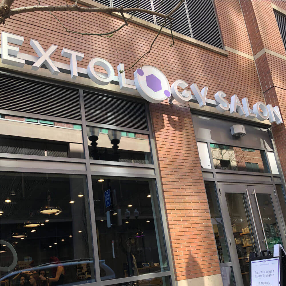 extology salon front door boston